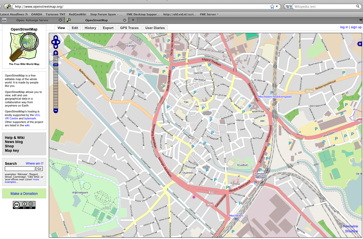 OpenStreetMap in MAPublisher | Red Geographics