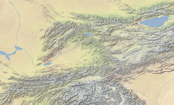 Terrain Map Red Geographics - Earth terrain map