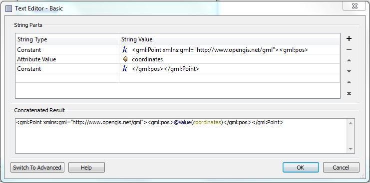 FME tip: create point from text   Red Geographics
